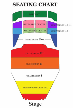 Tulsa Pac Seating Chart Pictures To Pin On Pinterest